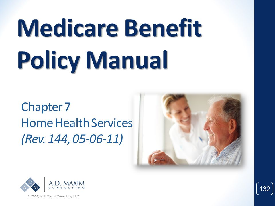 Medicare Benefit Policy Manual