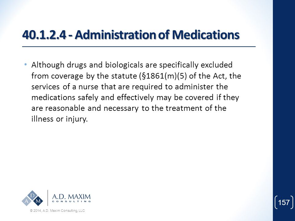 40.1.2.4 - Administration of Medications