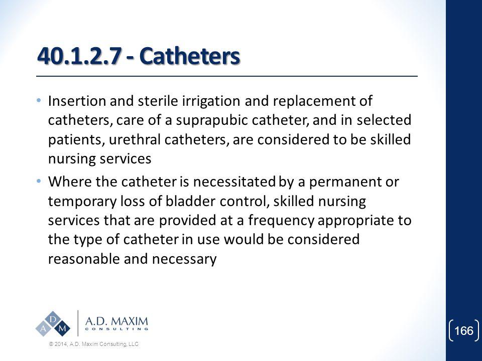 40.1.2.7 - Catheters