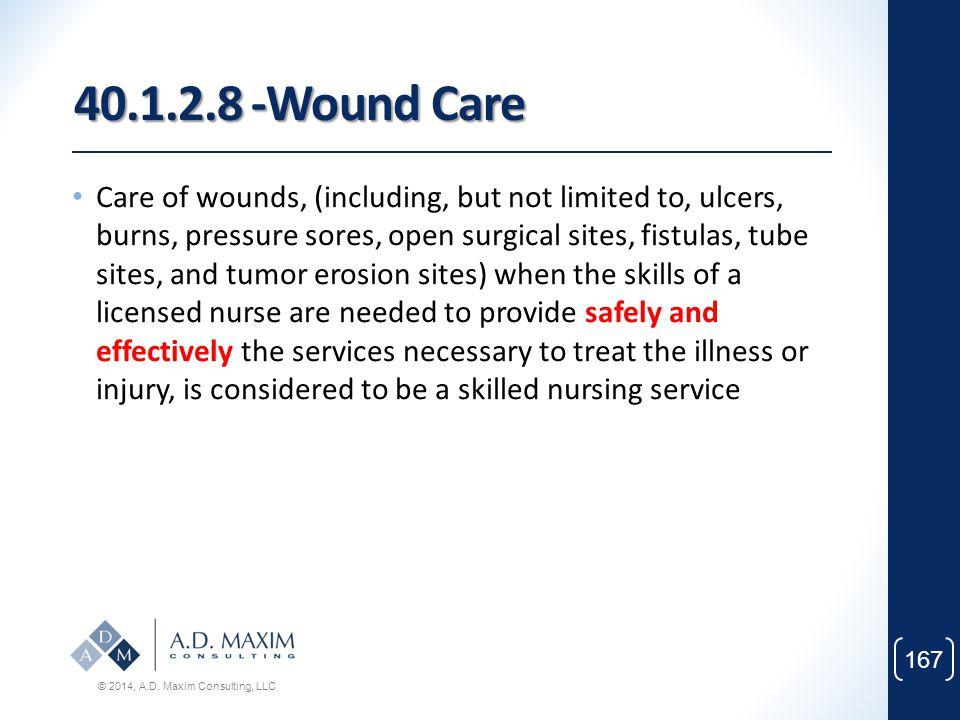 40.1.2.8 -Wound Care