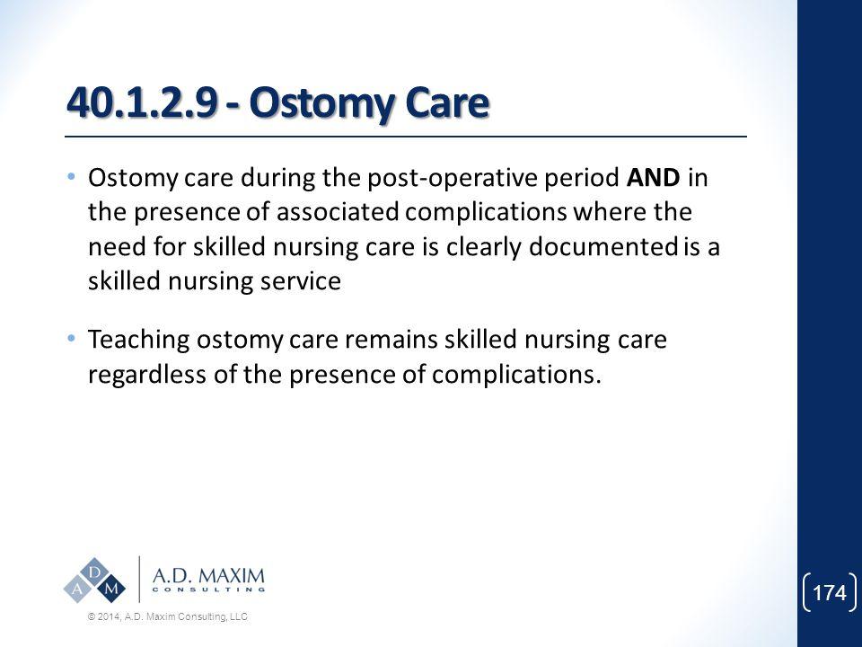 40.1.2.9 - Ostomy Care