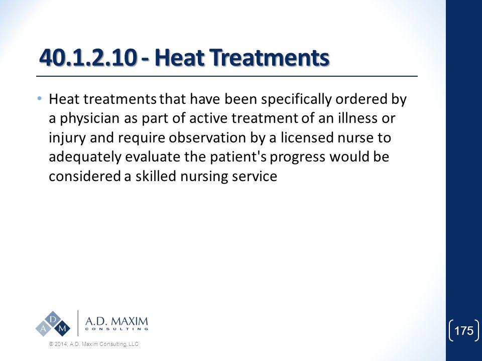 40.1.2.10 - Heat Treatments
