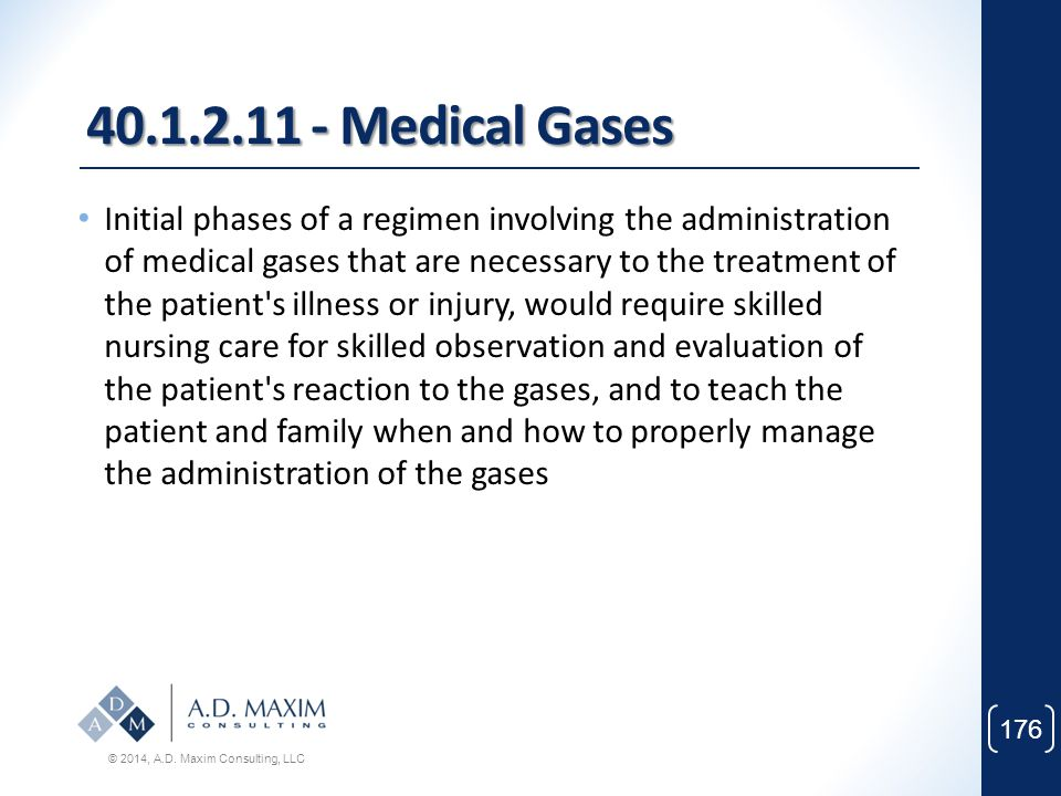 40.1.2.11 - Medical Gases