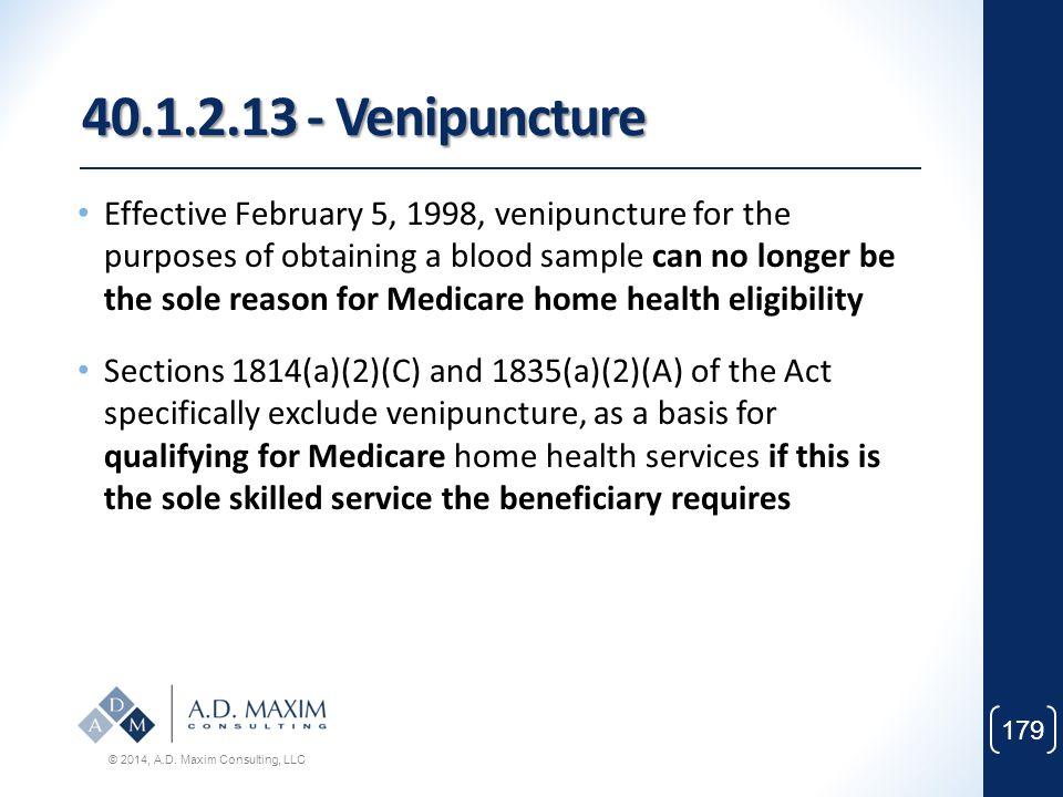 40.1.2.13 - Venipuncture