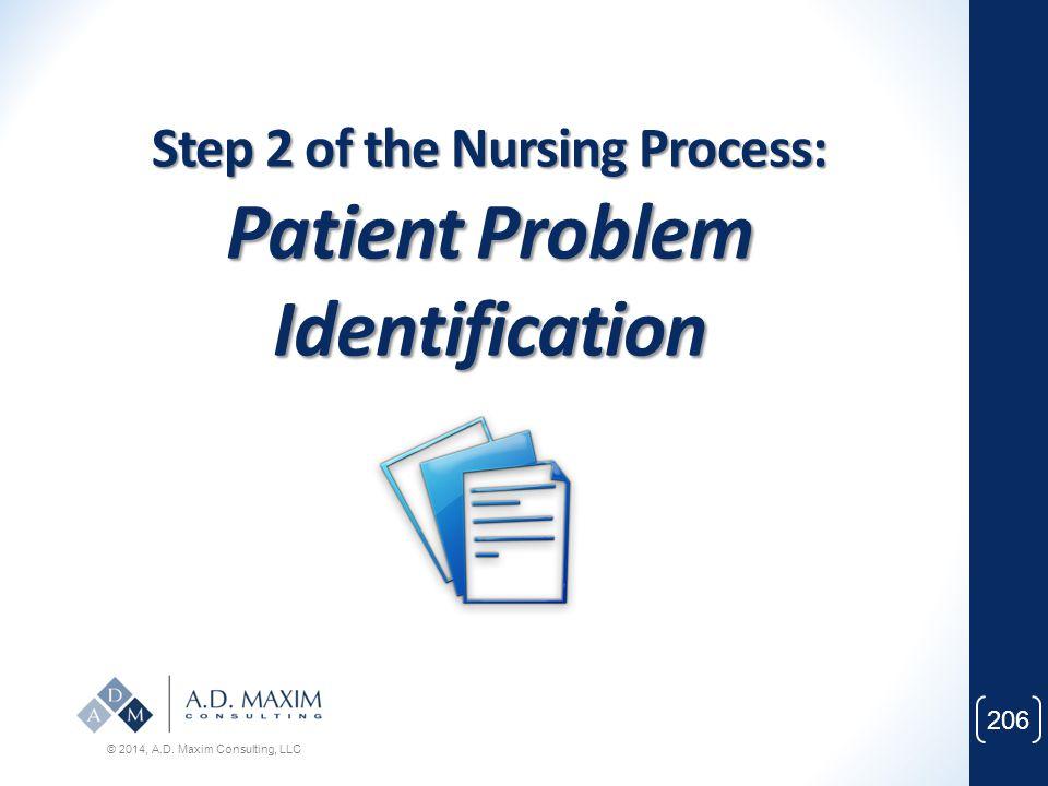 Step 2 of the Nursing Process: Patient Problem Identification