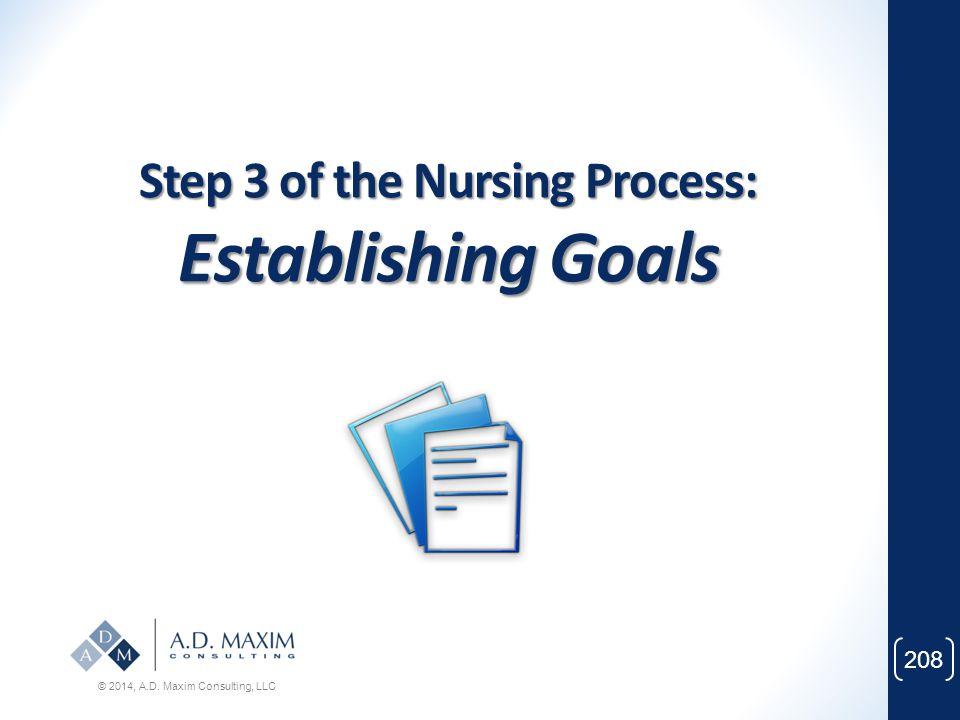 Step 3 of the Nursing Process: Establishing Goals