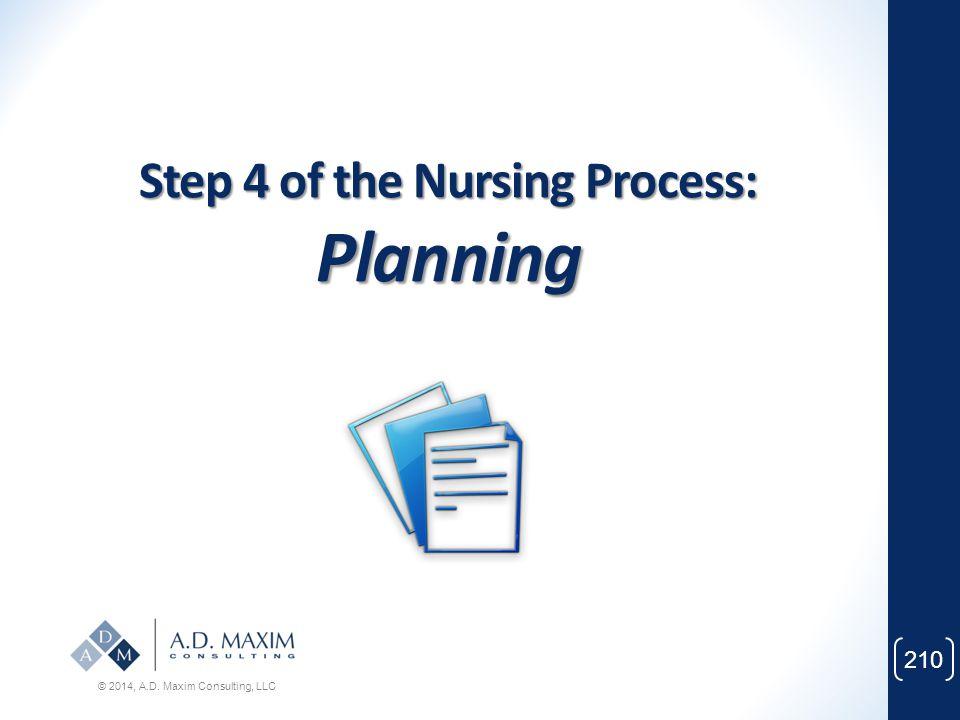 Step 4 of the Nursing Process: Planning