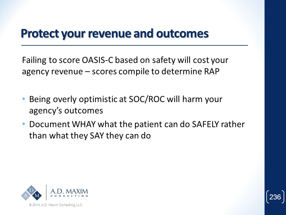 Protect your revenue and outcomes