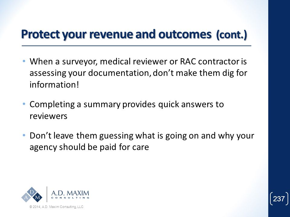 Protect your revenue and outcomes (cont.)
