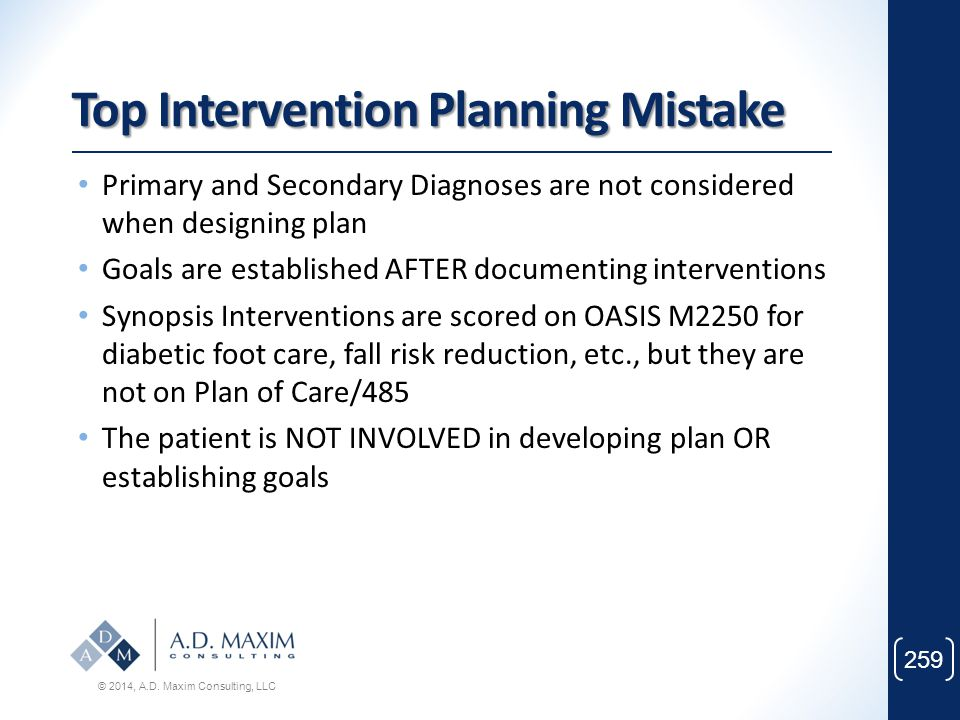 Top Intervention Planning Mistake
