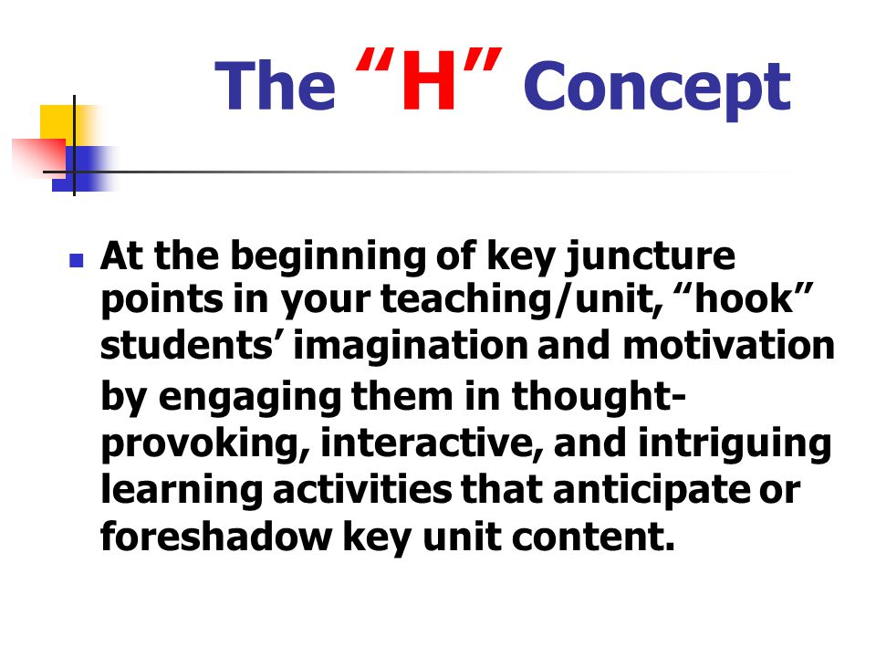 The H Concept