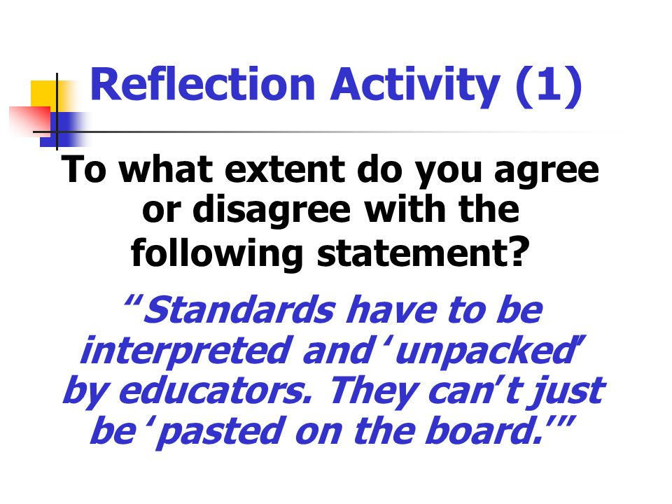 Reflection Activity (1)