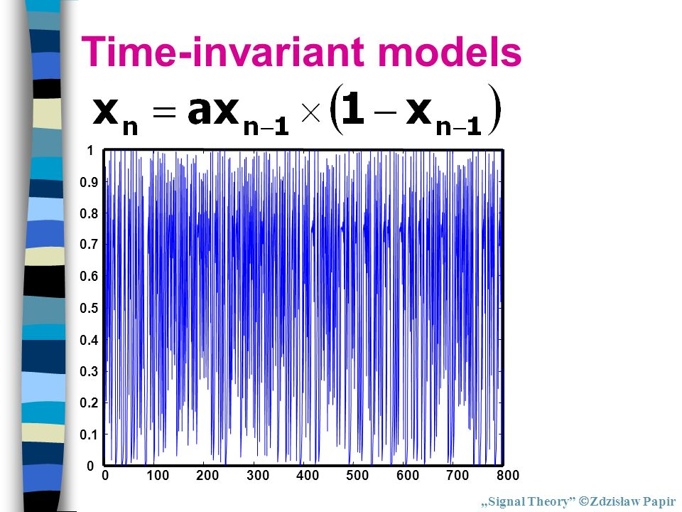 Time-invariant models