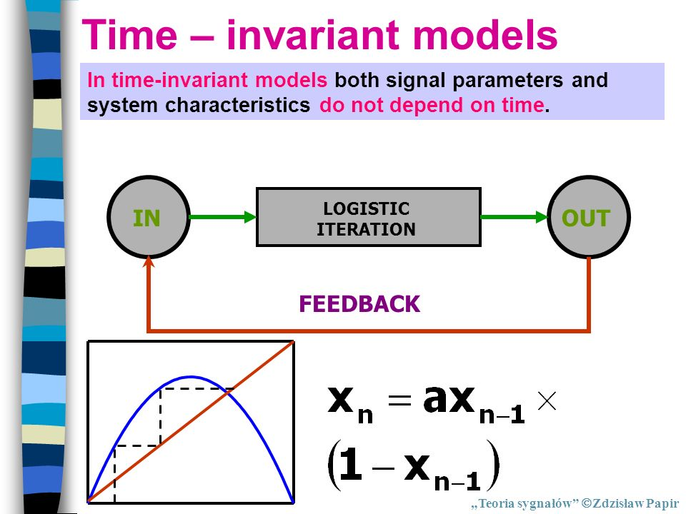 Time – invariant models