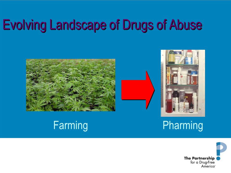Evolving Landscape of Drugs of Abuse