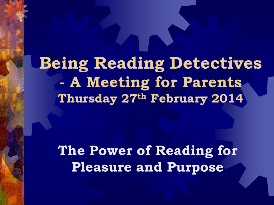 The Power of Reading for Pleasure and Purpose