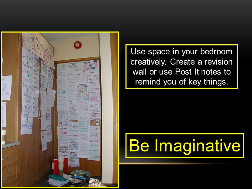 Use space in your bedroom creatively