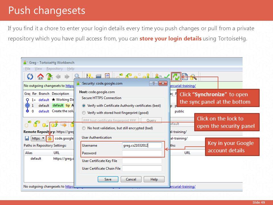 Push changesets