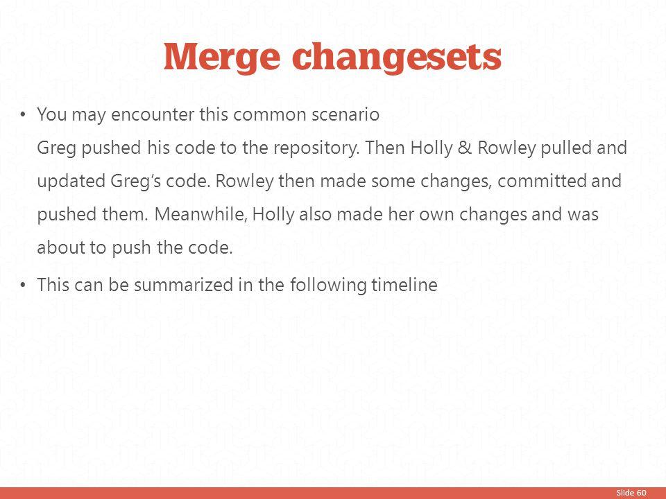 Merge changesets