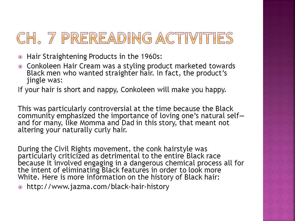 Ch. 7 prereading activities