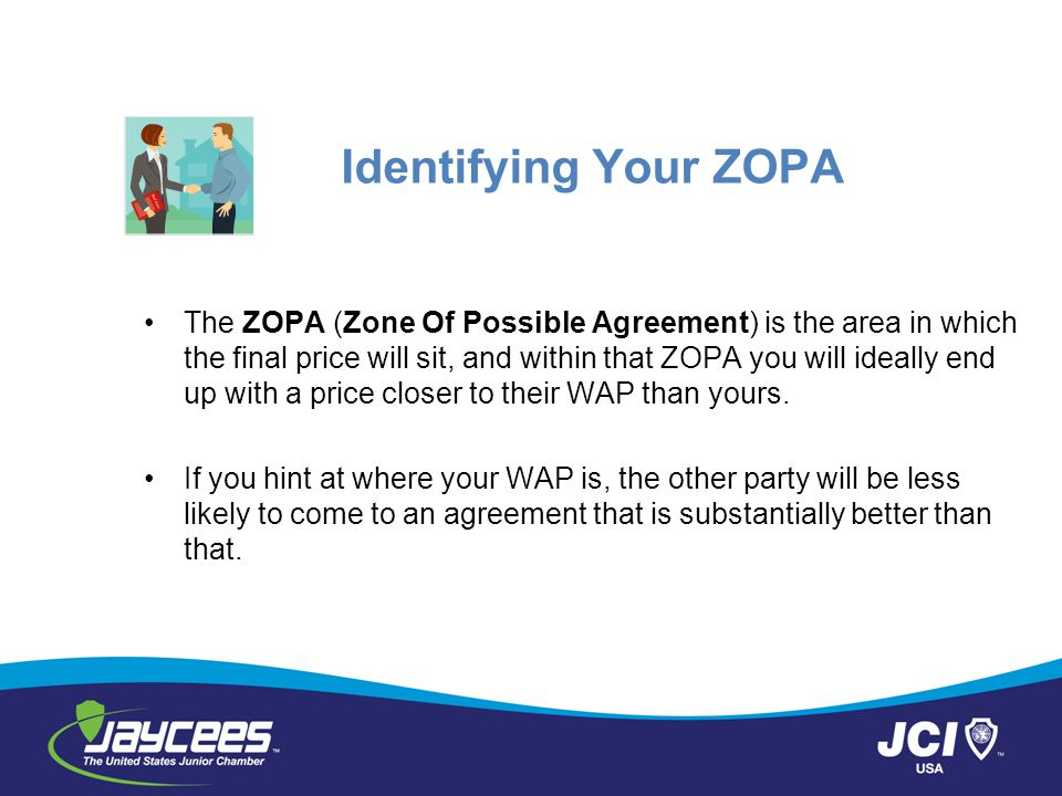 Identifying Your ZOPA