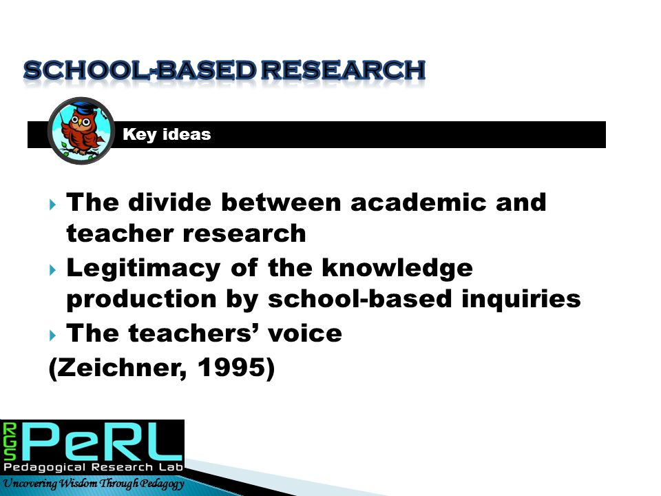 School-based research
