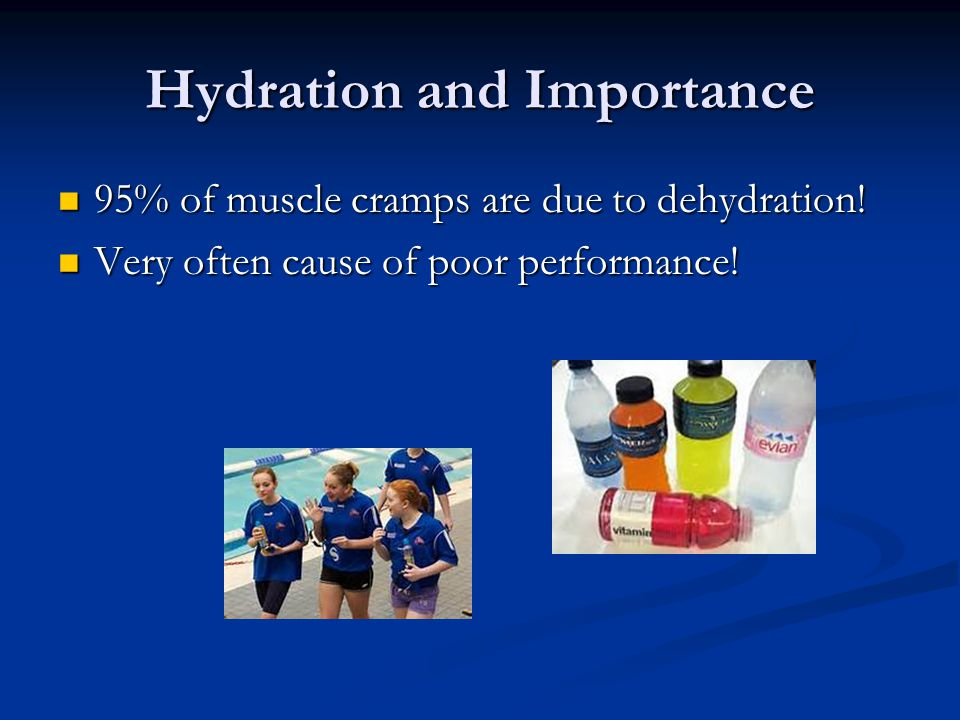 Hydration and Importance