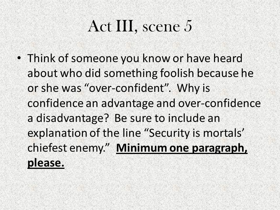 Act III, scene 5
