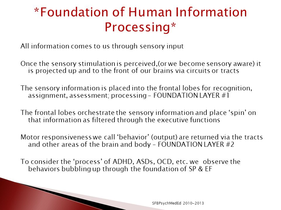 *Foundation of Human Information Processing*