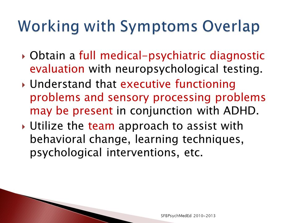 Working with Symptoms Overlap