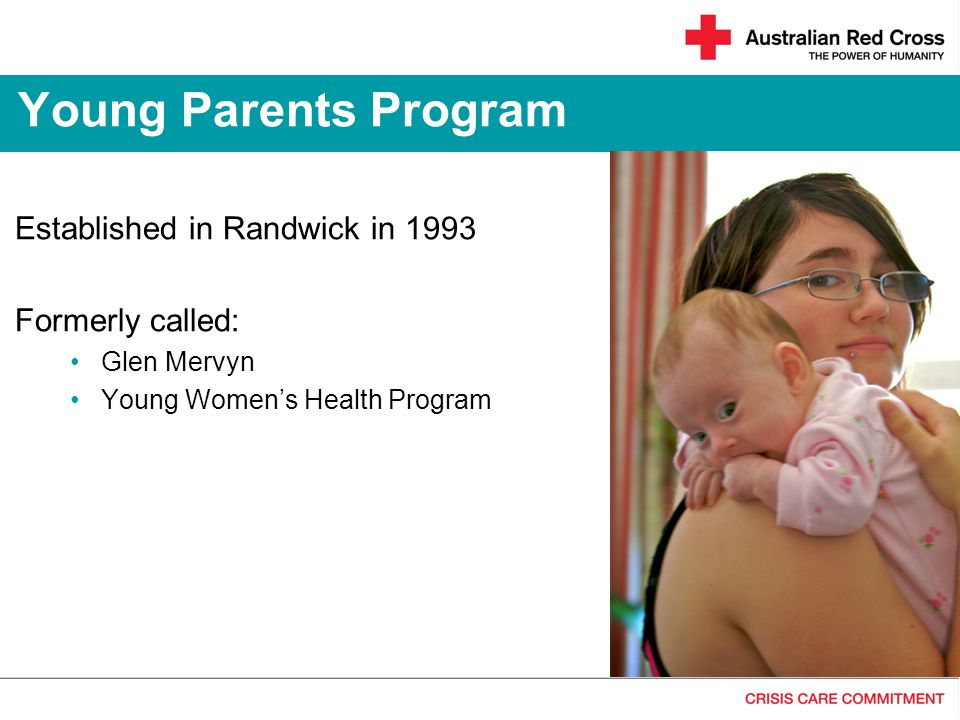 Young Parents Program Established in Randwick in 1993 Formerly called:
