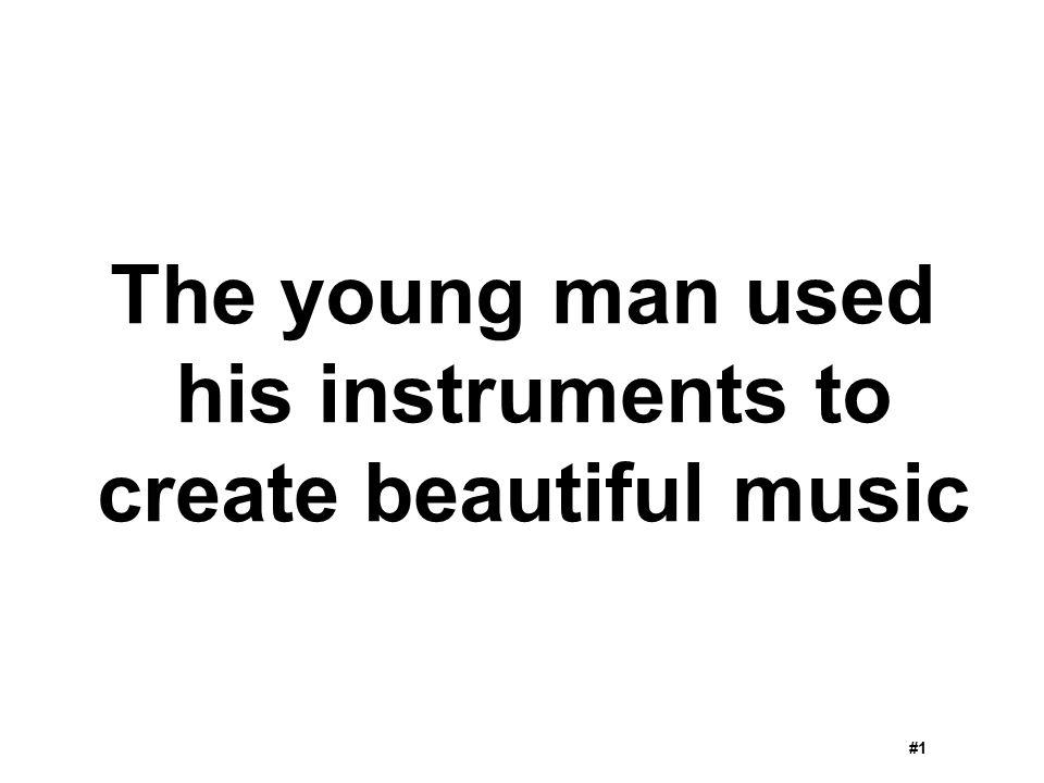 create beautiful music