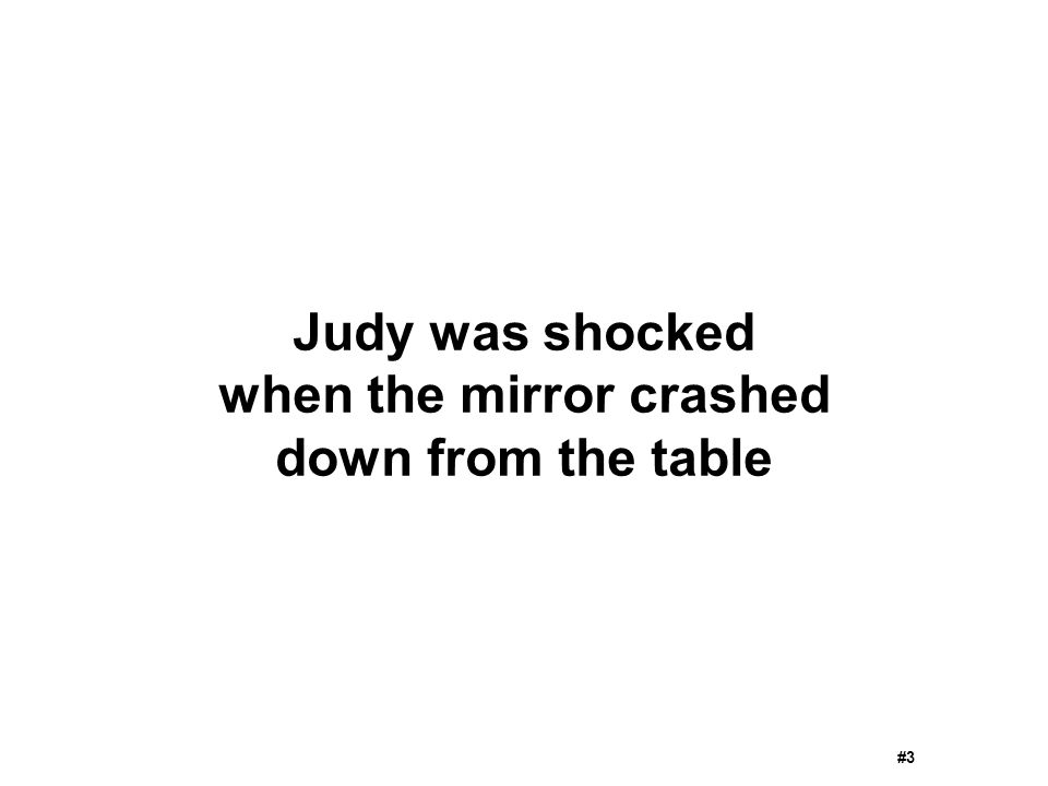 when the mirror crashed