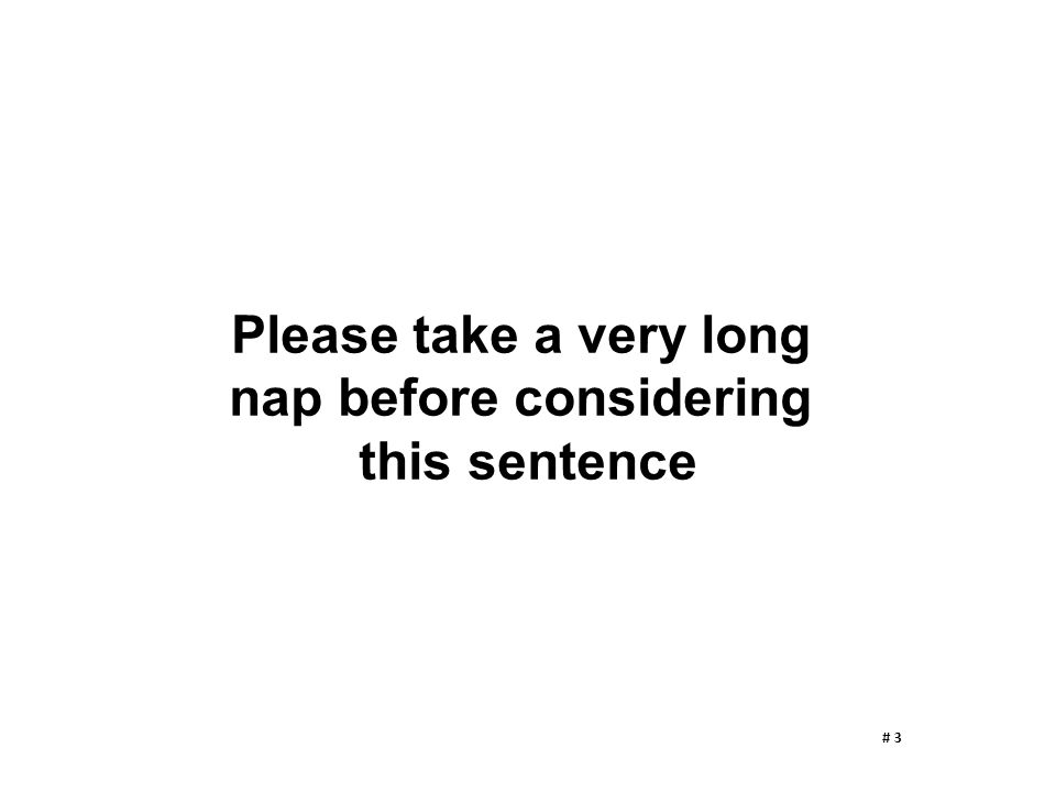 nap before considering