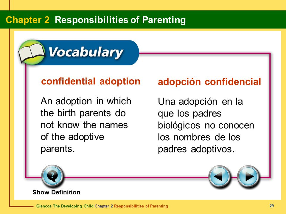 confidential adoption adopción confidencial