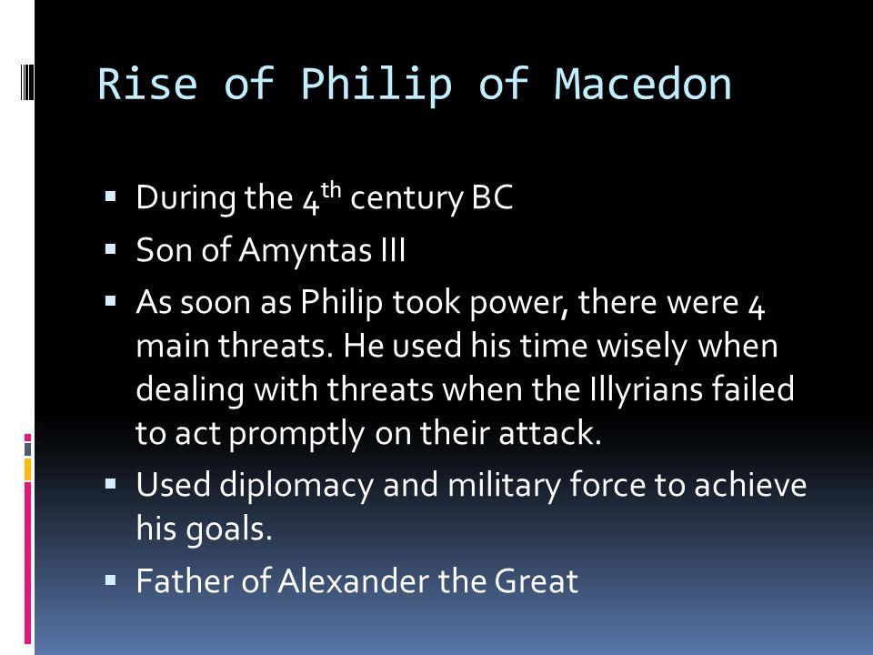 Rise of Philip of Macedon