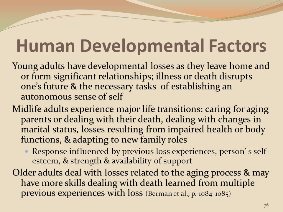 Human Developmental Factors