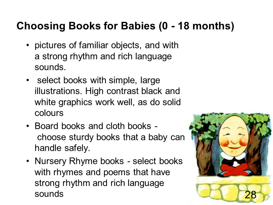 Choosing Books for Babies (0 - 18 months)