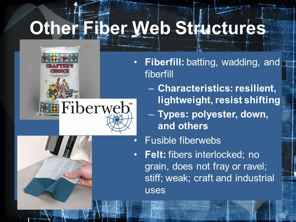 Other Fiber Web Structures