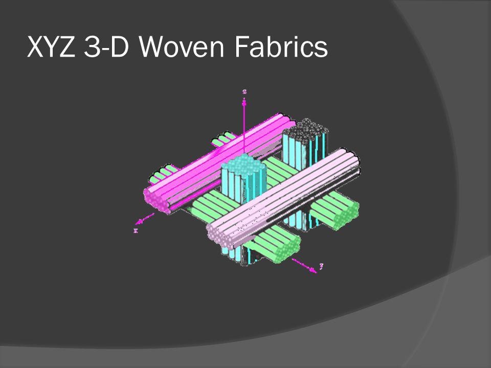 XYZ 3-D Woven Fabrics