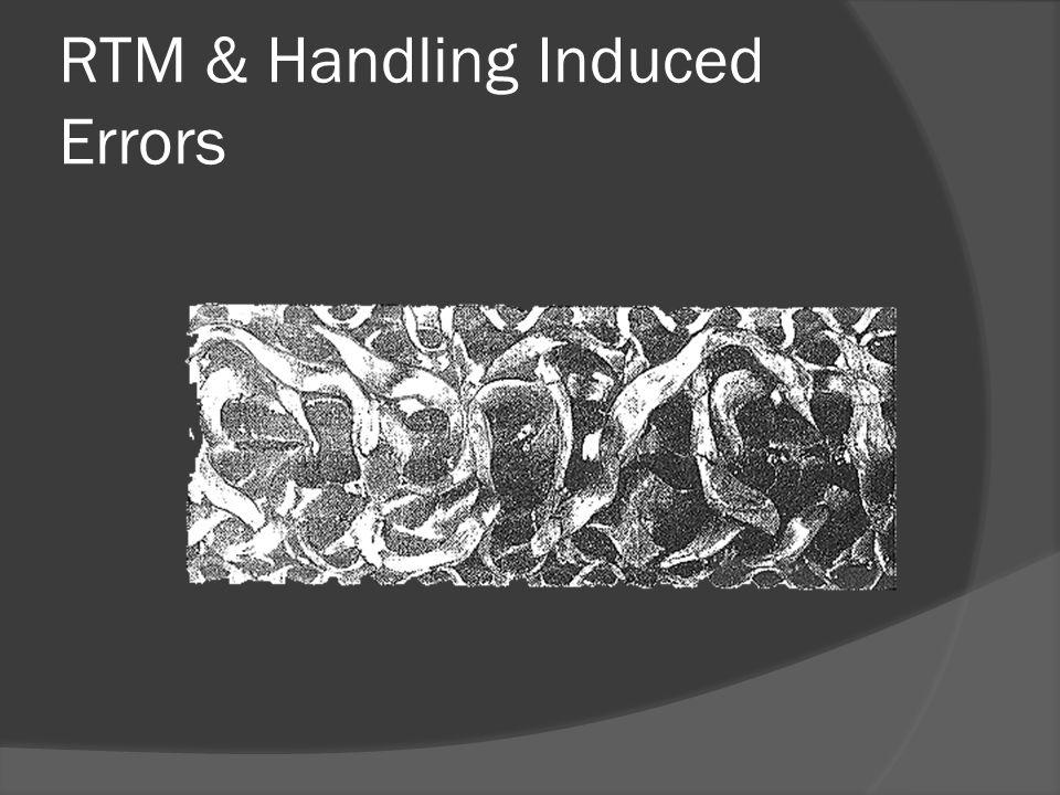 RTM & Handling Induced Errors