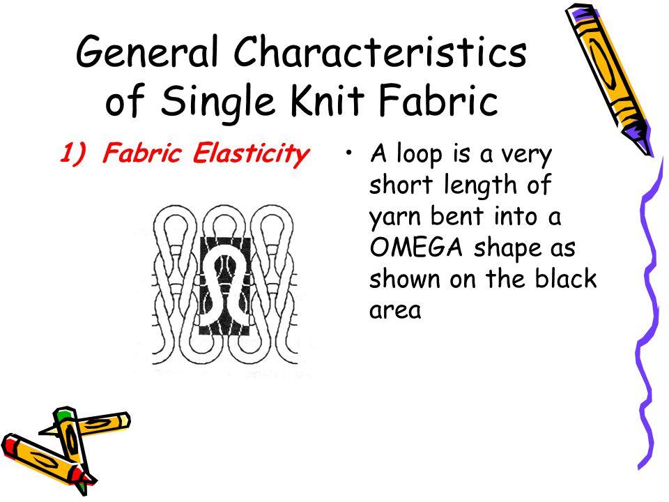 General Characteristics of Single Knit Fabric