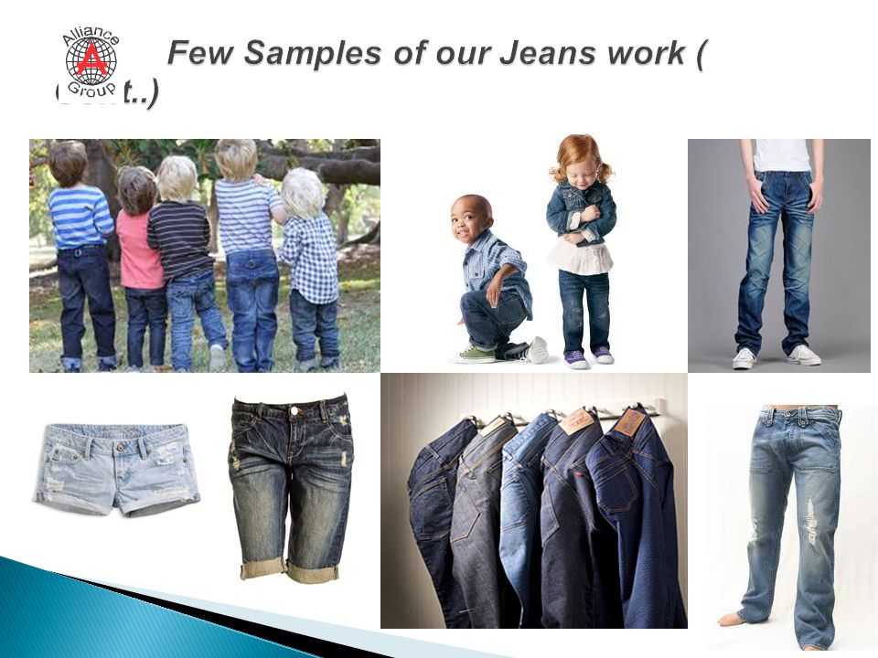 Few Samples of our Jeans work ( Cont..)