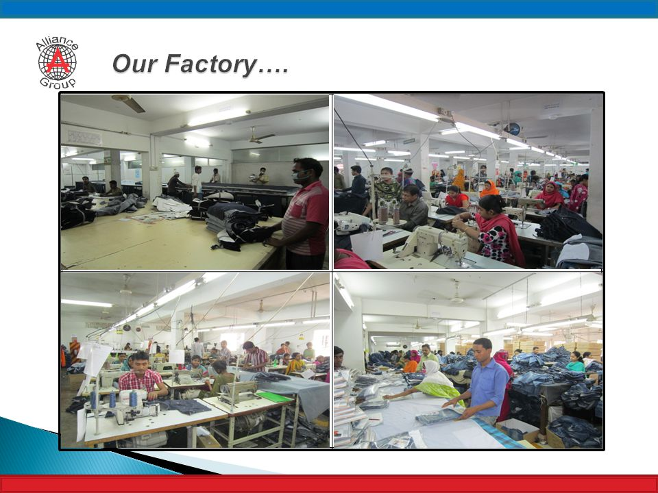 Our Factory….
