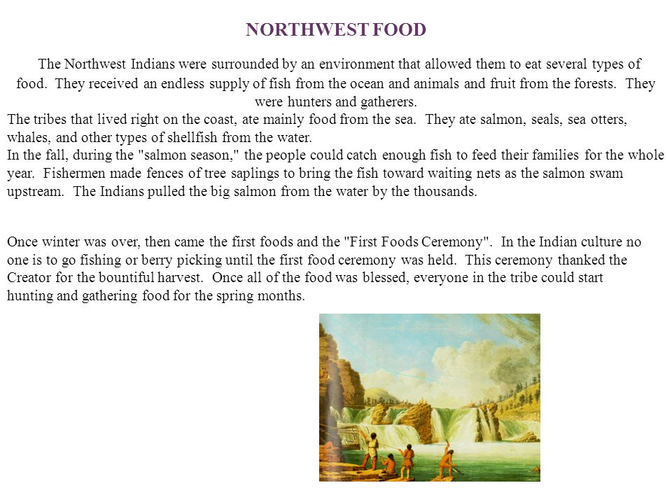 NORTHWEST FOOD