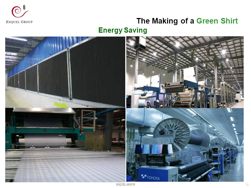 The Making of a Green Shirt