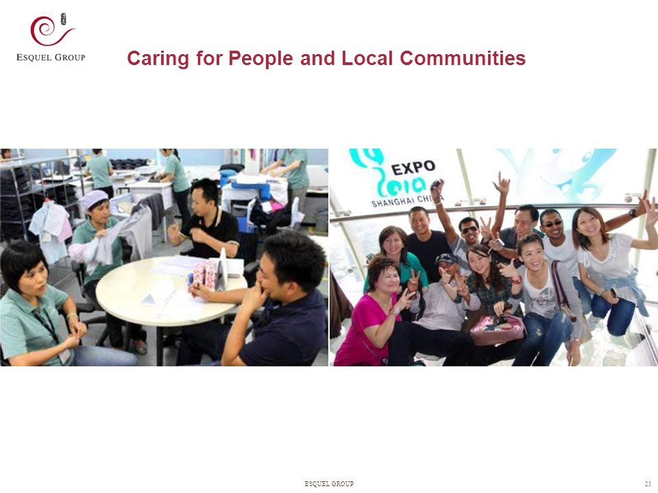 Caring for People and Local Communities