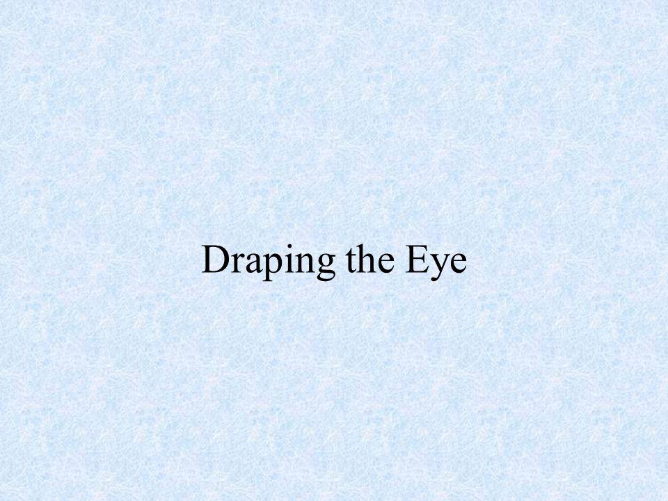 Draping the Eye