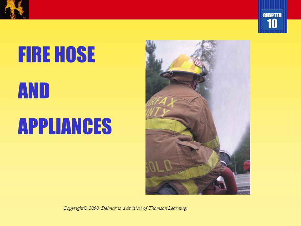 FIRE HOSE AND APPLIANCES
