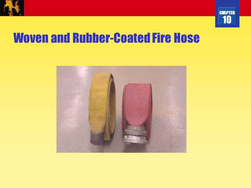 Woven and Rubber-Coated Fire Hose